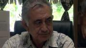 ITV d'Oscar TEMARU ancien président de la Polynésie française, contre l'exploitation du phosphate sur Makatea